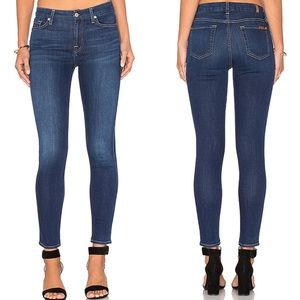 7 for all mankind Blair ankle skinny jean stretch